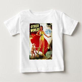 Camiseta Para Bebê Gnomos do jardim na praia