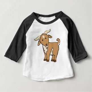 Camiseta Para Bebê goatee da cabra