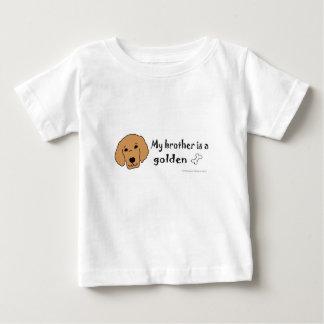 Camiseta Para Bebê golden retriever