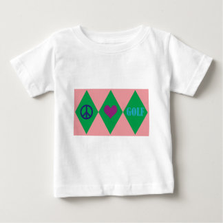 Camiseta Para Bebê Golfe Argyle