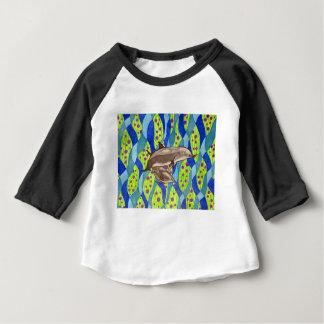 Camiseta Para Bebê golfinho