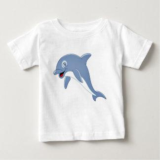 Camiseta Para Bebê Golfinho bonito
