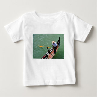 Camiseta Para Bebê Gôndola em Veneza, Italia