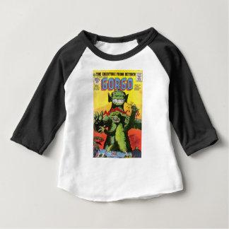 Camiseta Para Bebê Gorgo a criatura de além