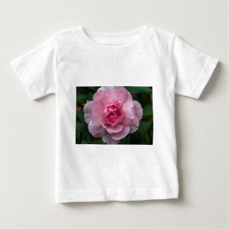 Camiseta Para Bebê Gotas cor-de-rosa