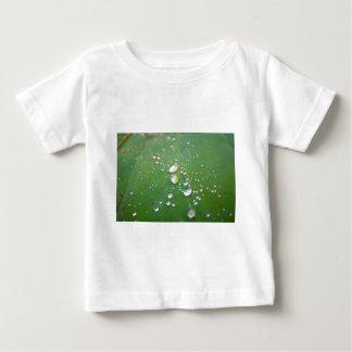 Camiseta Para Bebê Gotas de orvalho