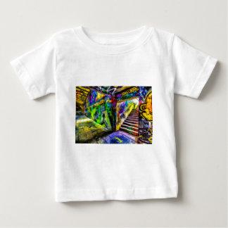 Camiseta Para Bebê Grafites Van Gogh de Londres