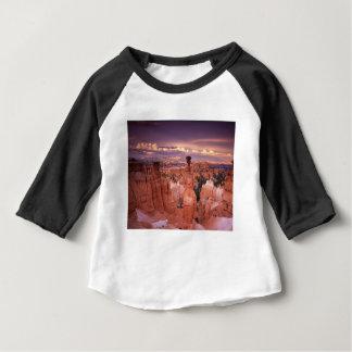 Camiseta Para Bebê Grand Canyon durante a hora dourada