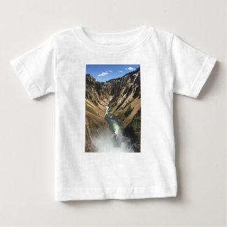 Camiseta Para Bebê Grand Canyon no parque de Yellowstone