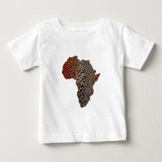Camiseta Para Bebê Grande África