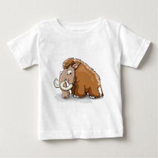 Camiseta Para Bebê Grande mammoth dos desenhos animados do tronco e