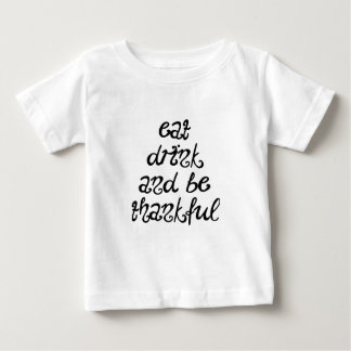 Camiseta Para Bebê Grato
