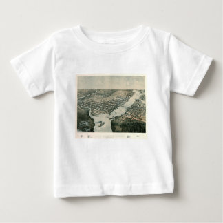 Camiseta Para Bebê Green Bay Wisconsin 1867