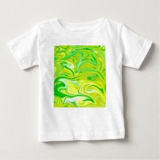 Camiseta Para Bebê Green_Hippy_Salad, _