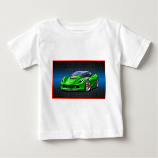 Camiseta Para Bebê Green_Z06