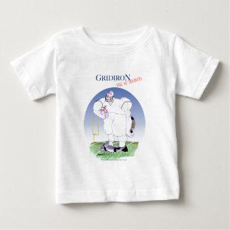 Camiseta Para Bebê Grelha - não tome nenhum prisioneiro, fernandes