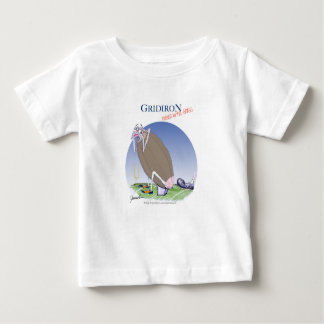 Camiseta Para Bebê Grelha - retrocedida dentro a grama, fernandes