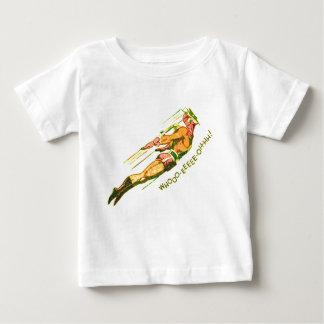 Camiseta Para Bebê Grito marciano da vitória
