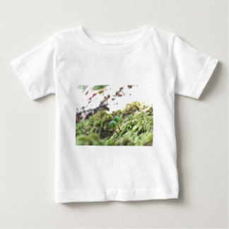 Camiseta Para Bebê Guarda-chuvas do Bryophyta