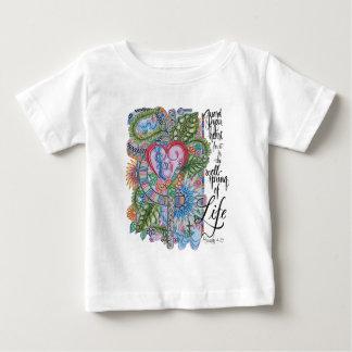 Camiseta Para Bebê Guarda do verso da bíblia do 4:23 dos provérbio