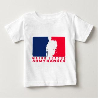 Camiseta Para Bebê Guarda florestal do exército da liga principal
