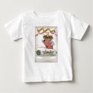 Camiseta Para Bebê guarda-redes de galês