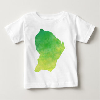 Camiseta Para Bebê Guiana Francesa