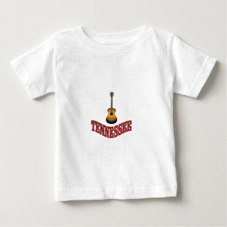 Camiseta Para Bebê Guitarra de Tennessee