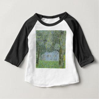 Camiseta Para Bebê Gustavo Klimt - Bauerhaus na pintura de Buchberg