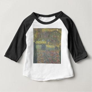 Camiseta Para Bebê Gustavo Klimt - casa de campo pela arte de