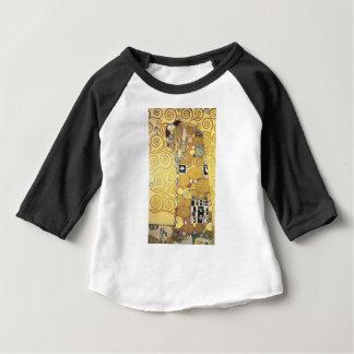 Camiseta Para Bebê Gustavo Klimt - o abraço - trabalhos de arte