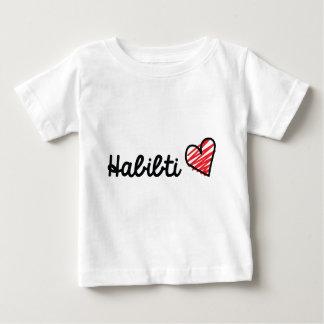 Camiseta Para Bebê Habibti
