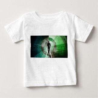 Camiseta Para Bebê Habilidades críticas da tecnologia e indústria