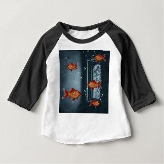 Camiseta Para Bebê Habitat natural