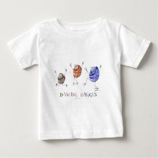 Camiseta Para Bebê haggis da dança