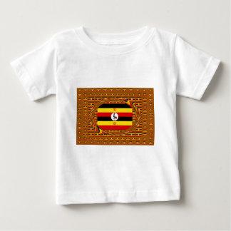 Camiseta Para Bebê Hakuna surpreendente bonito Matata Uganda bonito