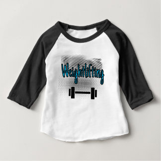Camiseta Para Bebê Halterofilismo