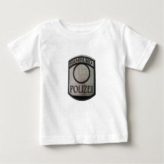 Camiseta Para Bebê Hamburgo Polizei