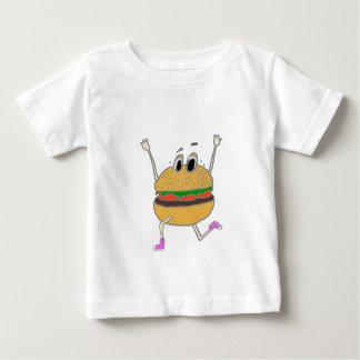 Camiseta Para Bebê hamburguer running