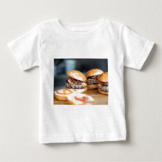 Camiseta Para Bebê Hamburgueres