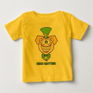 Camiseta Para Bebê Hatter louco