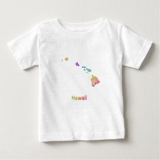 Camiseta Para Bebê Havaí