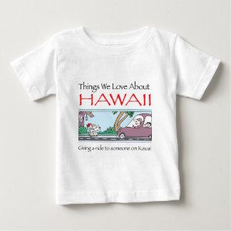 Camiseta Para Bebê Havaí por Harrop-T-a