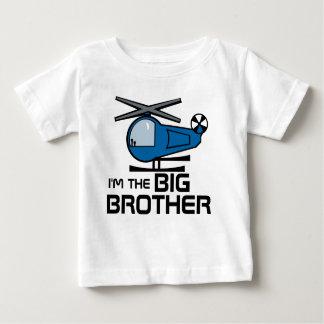 Camiseta Para Bebê Helicóptero do big brother