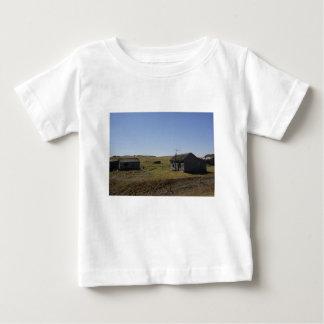 Camiseta Para Bebê Herdade da pradaria, sonhos desvanecidos
