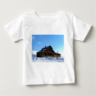 Camiseta Para Bebê Herdade do rancho de Haynes