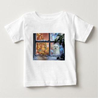 Camiseta Para Bebê Hermes o maltês