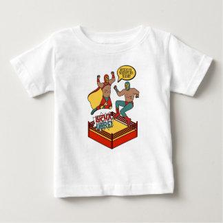 Camiseta Para Bebê Heróis de Lucha Libre
