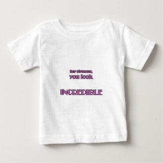 Camiseta Para Bebê Hey desconhecido