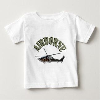 Camiseta Para Bebê HH-60 pavimentam o falcão